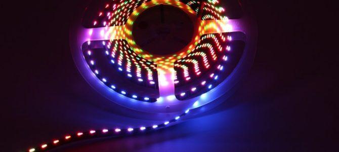 En flexibel LED Strip gör det enkelt att vara kreativ med belysningen